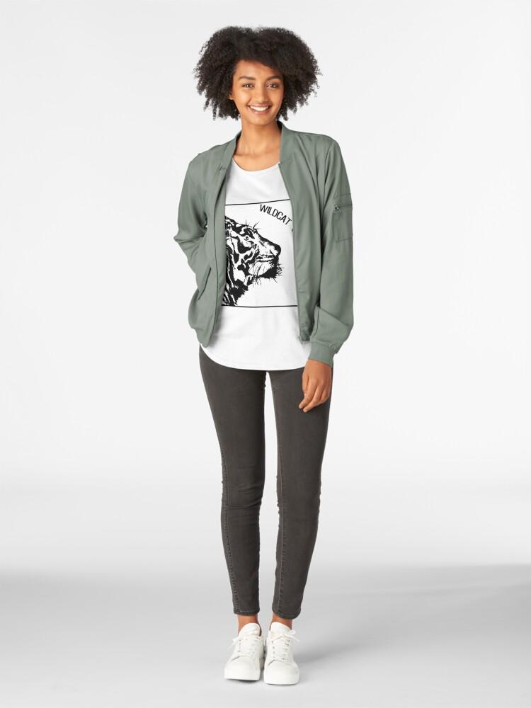 Alternate view of WILDCAT STYLE (b) Premium Scoop T-Shirt