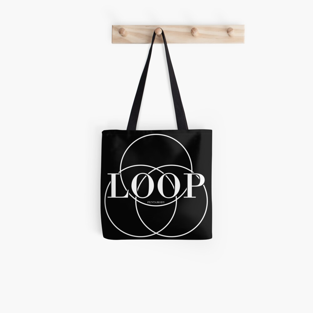 LOOP CIRCLE FASHION (w) Tote Bag