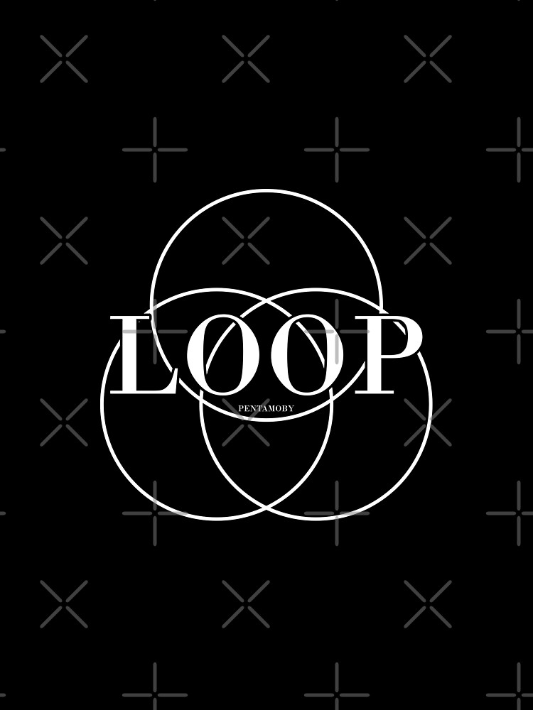 LOOP CIRCLE FASHION (w) by Pentamoby