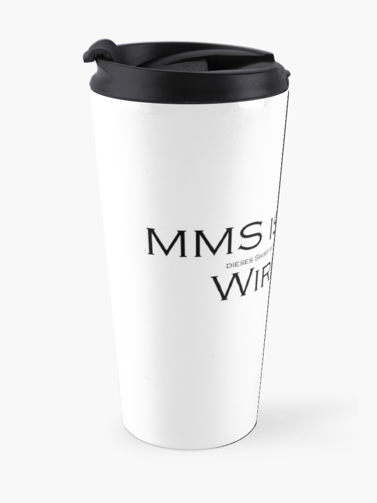 Alternate view of MMS is POISON (b) Travel Mug