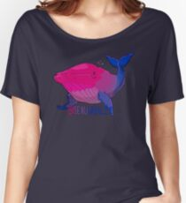 Bisexuwhale - mit Text Baggyfit T-Shirt