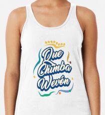 Camiseta con espalda nadadora Que chimba