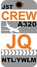 JQ A320 Crew Newcastle by AvGeekCentral