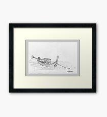 Thailand - Long tail passenger boat Framed Print