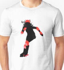 rockin' roller derby girl T-Shirt
