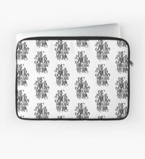 Be Your Own Hero Laptop Sleeve