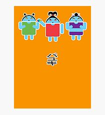 Droidarmy: Fruity Oaty Droids Photographic Print