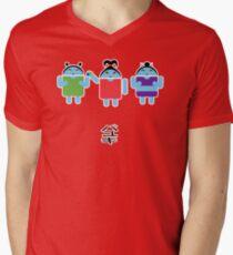 Droidarmy: Fruity Oaty Droids Mens V-Neck T-Shirt