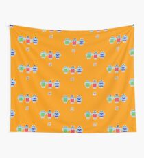 Droidarmy: Fruity Oaty Droids Wall Tapestry
