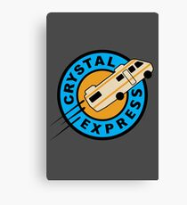 Crystal Express Canvas Print