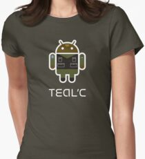 Droidarmy: Teal'c SG-1 Women's Fitted T-Shirt