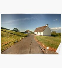 Thatched cottages Poster