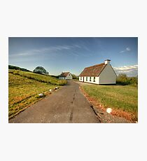 Thatched cottages Photographic Print