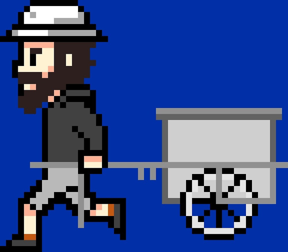 The Longest Pixel (blue) von TheLongestWay