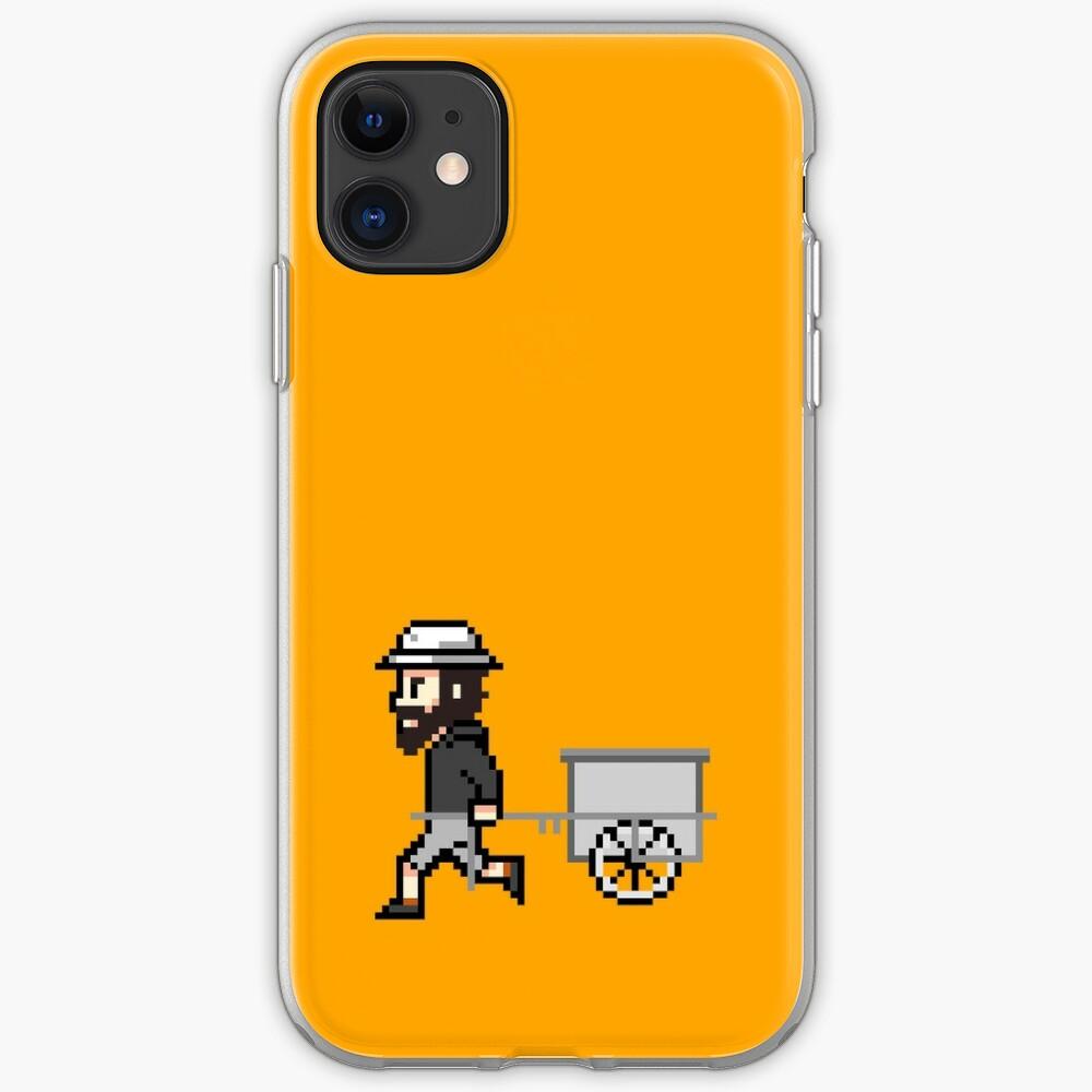 The Longest Pixel (orange) iPhone-Hülle & Cover