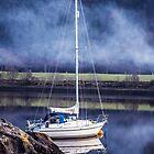 Boot am Loch Leven von James Taylor