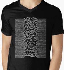 Unknown Pleasures - Joy Division Men's V-Neck T-Shirt