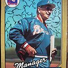 465 - Chuck Tanner by Foob's Baseball Cards