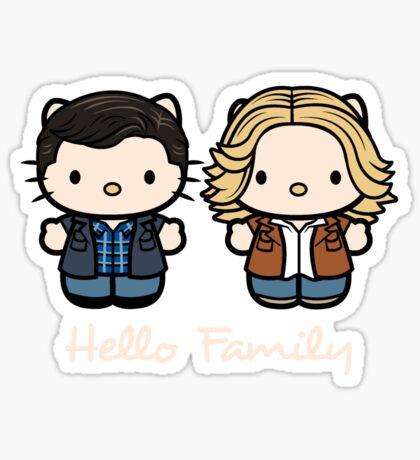 JOHN & MARY Sticker