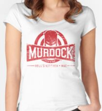 Murdock Gym (Vintage) Women's Fitted Scoop T-Shirt