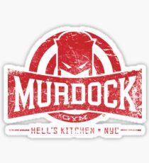 Murdock Gym (Vintage) Sticker