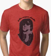 John Cooper Clarke punk poet Tri-blend T-Shirt