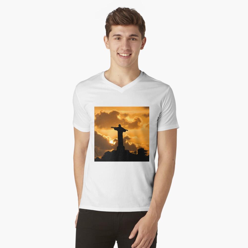 A Rio Icon V-Neck T-Shirt