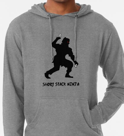 Short Stack Ninja Lightweight Hoodie