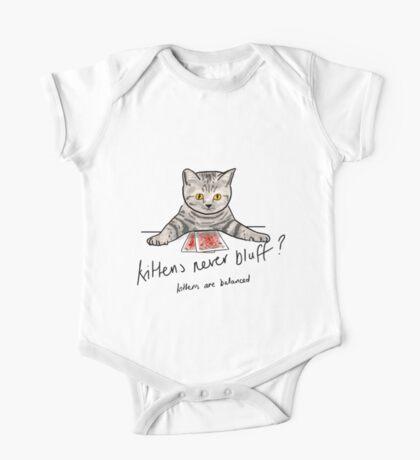 Bluffing Poker Kitten  Kids Clothes