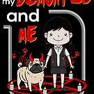 «Mi demonio pug y yo» de darklordpug