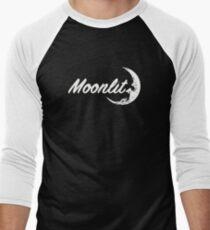 Moonlit 1 Men's Baseball ¾ T-Shirt