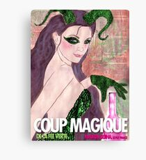 Coup Magique Canvas Print