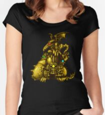 Super Metroid - Boss Statue Women's Fitted Scoop T-Shirt
