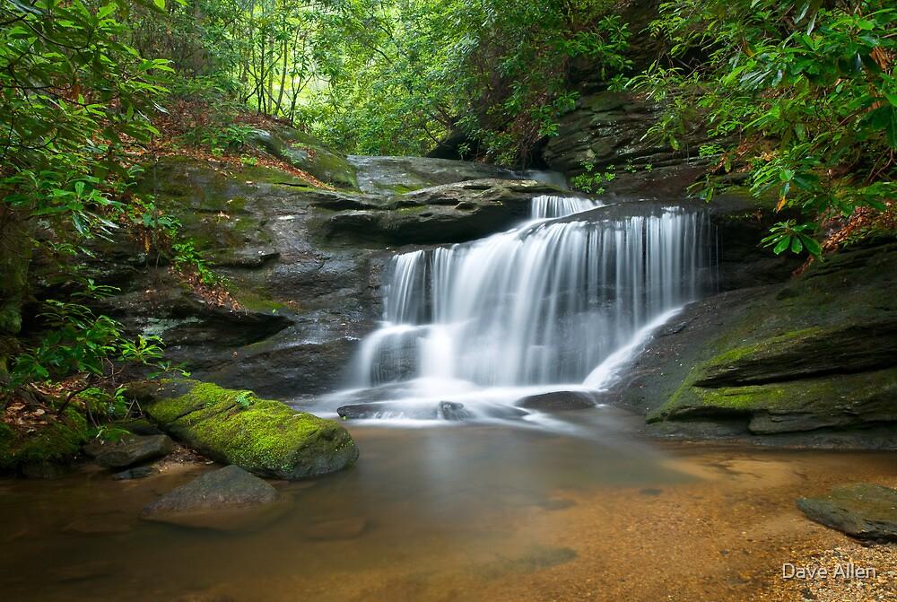 Hidden Falls - WNC Waterfall Photography by Dave Allen