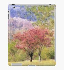 Valley Trees In Springtime iPad Case/Skin