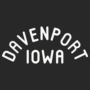 Davenport Iowa Souvenirs IA Arch Classic by fuller-factory