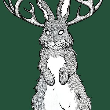 The Jackalope by BettyRocksteady