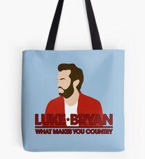 efa1963cc9c Luke Bryan Tote Bags | Redbubble