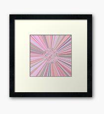 Pastel Planet Burst  Design Gift Framed Print
