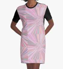 Pastel Planet Burst  Design Gift Graphic T-Shirt Dress