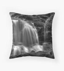 Tuscarora Falls, detail #2 Throw Pillow