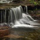 Meandering Cascade by Aaron Campbell