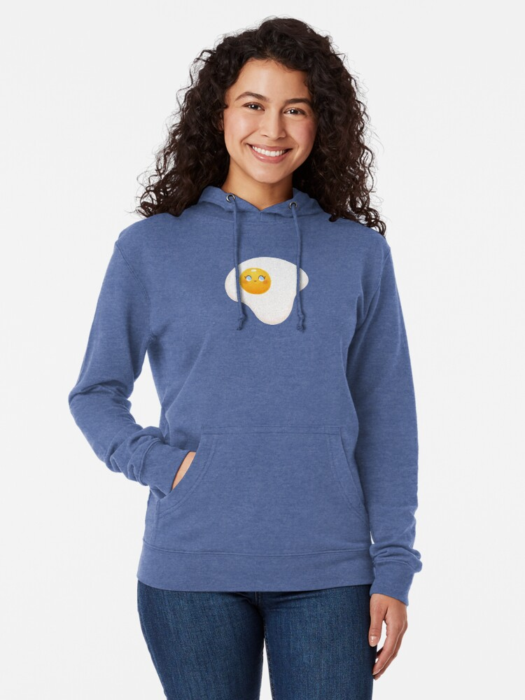 Alternate view of You're A Good Egg Lightweight Hoodie