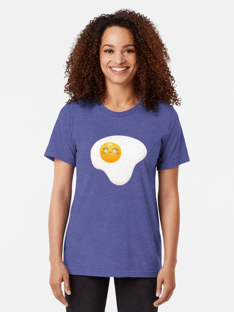 Alternate view of You're A Good Egg Tri-blend T-Shirt