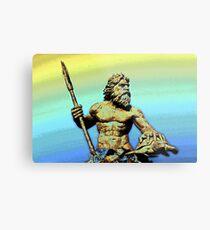 Sea God~King Neptune Metal Print