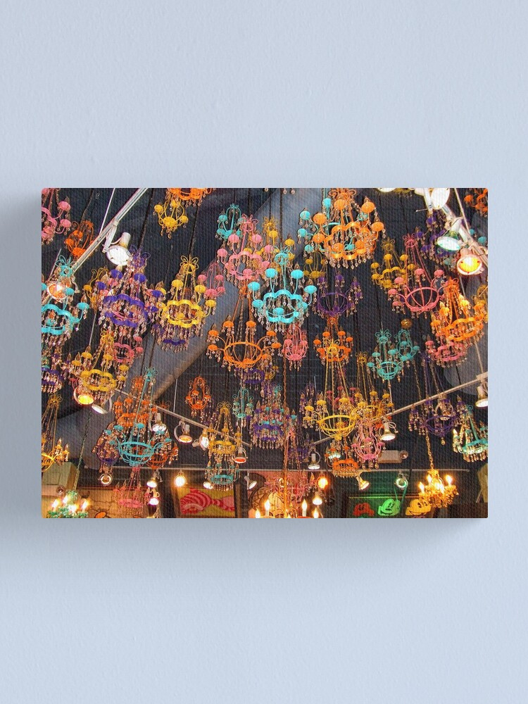 Alternate view of Chandeliers Canvas Print