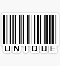 Unique barcode design Sticker