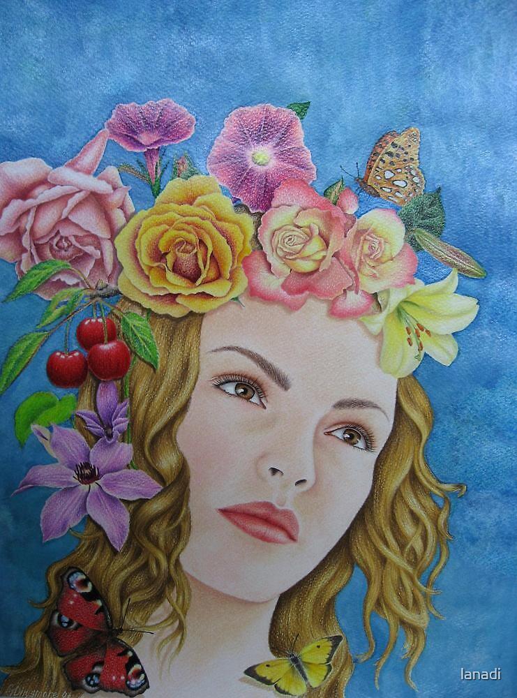 Summer butterflies by lanadi