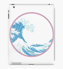 Great Wave off Kanagawa iPad Case/Skin
