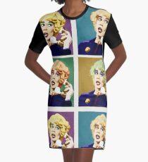 Miss Babs Pop Art Graphic T-Shirt Dress